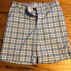 Bolle men's golf ⛳️ plaid shorts nw no tags sz 36w